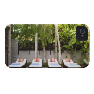 Deck Chairs Tropical House iPhone 4 Covers