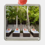 Deck Chairs Tropical House Ornament