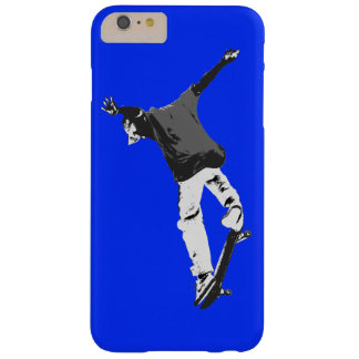 """Deck Flipping"" Skateboarding Stunt Barely There iPhone 6 Plus Case"