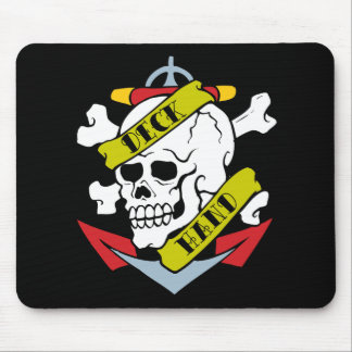 Deck Hand Pirate Tattoo Mouse Pad