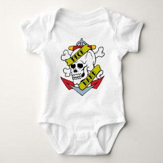 Deck Hand Tattoo Baby Bodysuit