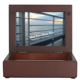 Deck Level View Personalized Memory Box