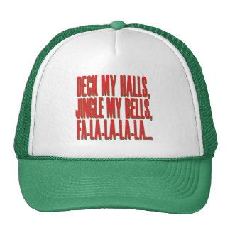 Deck My Halls, Jingle My Bells Mesh Hat