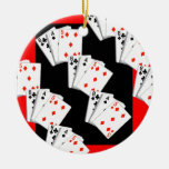 DECK OF CARDS CHRISTMAS TREE ORNAMENT