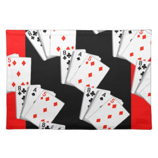 DECK OF CARDS CLOTH PLACEMAT