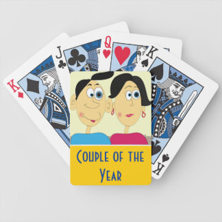 """Deck of cards """"couple of the year"""""""