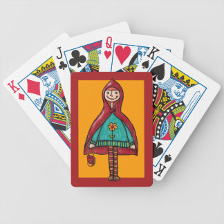 Deck of Cards, Little Red Riding Hood Bicycle Playing Cards