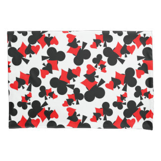 deck of cards pillow case