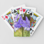 Deck of Cards, Pretty Purple Flowers