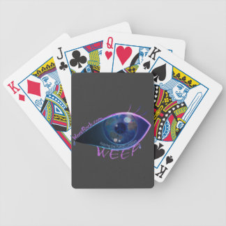 Deck of Cards- WEEP logo playing cards