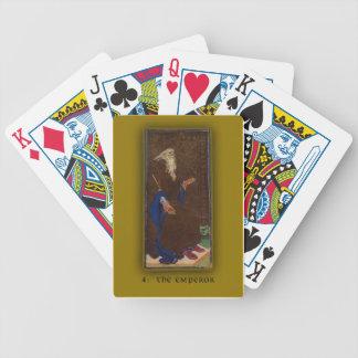 Deck of Cards with Visconti-Sforza Tarot EMPEROR