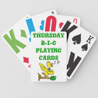 DECK OF PLAYING CARD - THURSDAY BICYCLE PLAYING CARDS