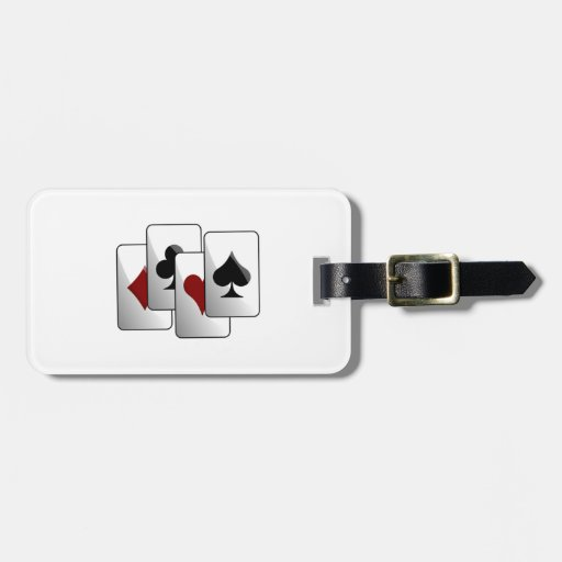 Deck of Playing Cards Bag Tag