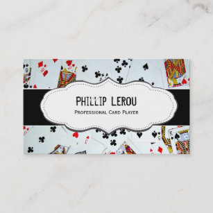 Poker business cards templates zazzle deck of playing cards business cards colourmoves