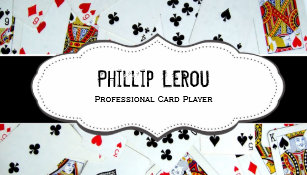 Poker business cards templates zazzle deck of playing cards business cards colourmoves Choice Image