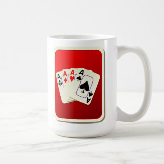 Deck of Playing Cards Classic White Coffee Mug