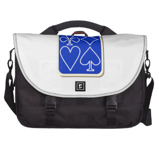 Deck of Playing Cards Laptop Commuter Bag