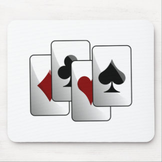 Deck of Playing Cards Mouse Pad