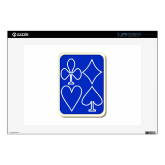 "Deck of Playing Cards 13"" Laptop Skin"