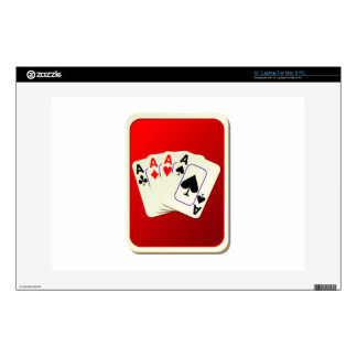Deck of Playing Cards Skins For Laptops