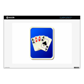 Deck of Playing Cards Skin For Laptop