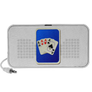 Deck of Playing Cards Travelling Speakers