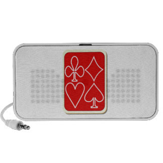 Deck of Playing Cards Speaker