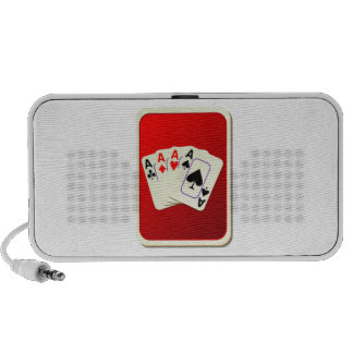Deck of Playing Cards Notebook Speakers