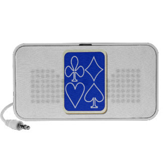 Deck of Playing Cards Laptop Speakers