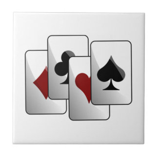 Deck of Playing Cards Tiles