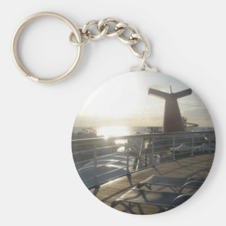 Deck of the Carnival Sensation Basic Round Button Keychain