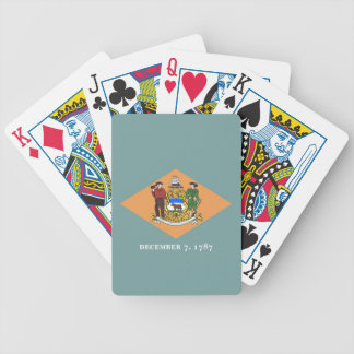 Deck Playing Cards with Flag of Delaware