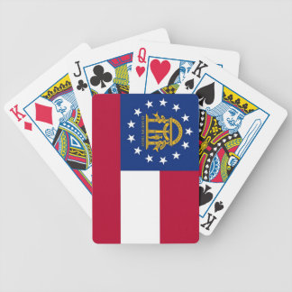 Deck Playing Cards with Flag of Georgia
