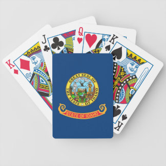 Deck Playing Cards with Flag of Idaho