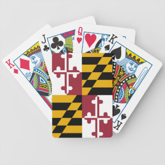 Deck Playing Cards with Flag of Maryland