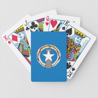 Deck Playing Cards with Flag of Northern Mariana