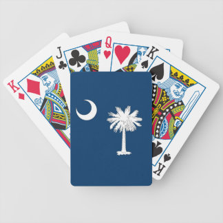 Deck Playing Cards with Flag of South Carolina