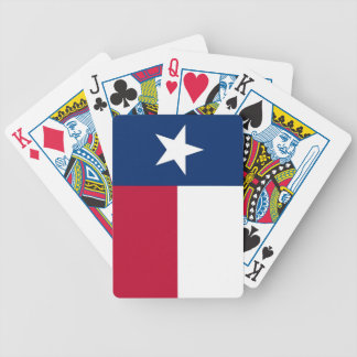 Deck Playing Cards with Flag of Texas, U.S.A.