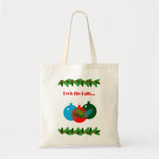 Deck the Balls Christmas Tote Bag