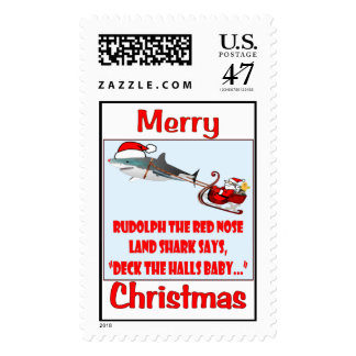 Deck the Halls Baby Postage