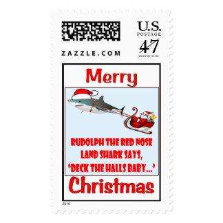 Deck the Halls Baby Stamp