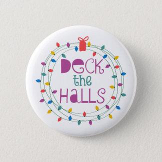 Deck The Halls Button