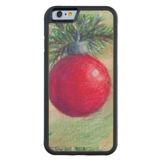 Deck the Halls Carved® Maple iPhone 6 Bumper Case