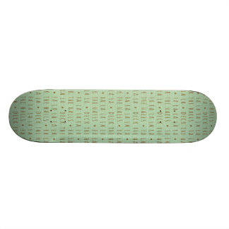 Deck the Halls Holiday Pattern Skate Board