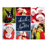 DECK THE HALLS   HOLIDAY POST CARD