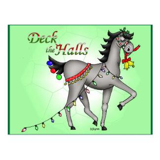 Deck the Halls Postcard