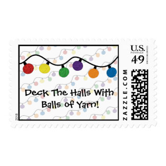 Deck The Halls With Balls Of Yarn Postage
