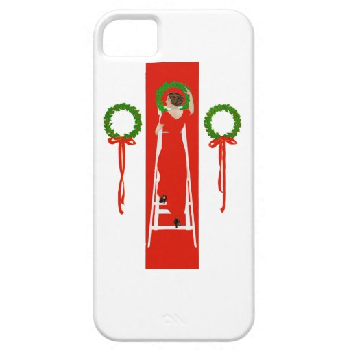 Deck the Halls with Boughs of Holly iPhone 5 Covers