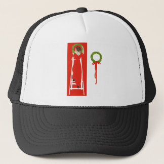 Deck The Halls With Boughs of Holly for Christmas Trucker Hat