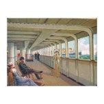 Deck View of the Patricia, Hamburg-America Line Canvas Prints